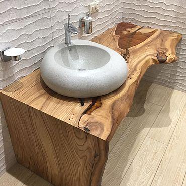 Мебель ручной работы. Ярмарка Мастеров - ручная работа Столешница в ванную. Handmade.