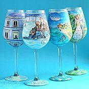 Подарки к праздникам handmade. Livemaster - original item Glasses
