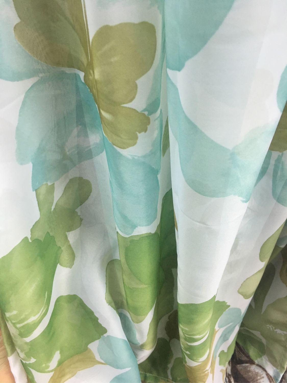 Готовый Тюль на шторной ленте, «Зелень» Ширина 3 м Высота 260 см, Шторы, Можайск,  Фото №1