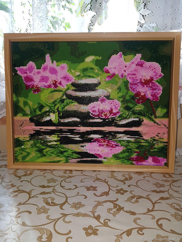 Алмазная картина Орхидеи, Картины, Москва,  Фото №1
