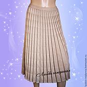 Одежда ручной работы. Ярмарка Мастеров - ручная работа Юбка в складку. Handmade.