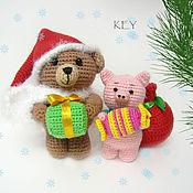 Куклы и игрушки ручной работы. Ярмарка Мастеров - ручная работа Новогоднее настроение. Handmade.