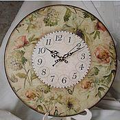 Для дома и интерьера ручной работы. Ярмарка Мастеров - ручная работа Часы настенные Floral Secret. Handmade.