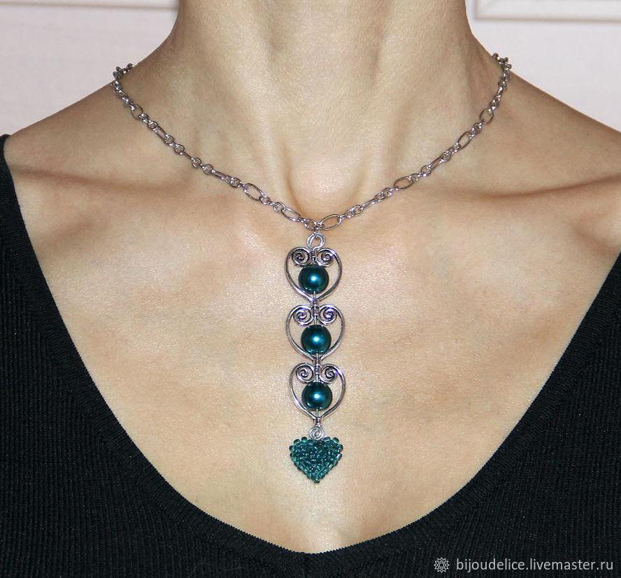 """Pendant on a chain """"Dear heart"""", Pendants, St. Petersburg,  Фото №1"""