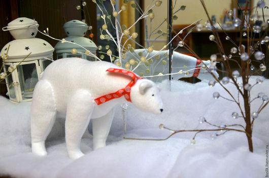 Куклы Тильды ручной работы. Ярмарка Мастеров - ручная работа. Купить Тильда Белый медведь. Handmade. Белый, подарок на новый год