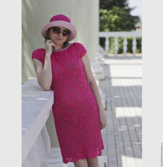 платье летнее ажурное хлопковое