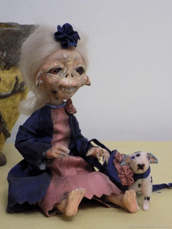 Скелли, кукла для отпугивания зла, Чердачная кукла, Алматы,  Фото №1