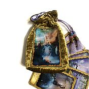 Фен-шуй и эзотерика handmade. Livemaster - original item Bag for Mystic Dreamer Tarot 14h20 cm.. Handmade.