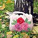"""Женские сумки ручной работы. Ярмарка Мастеров - ручная работа. Купить Сумка """"Розовые мечты"""". Handmade. Розовый, розы, подарок"""