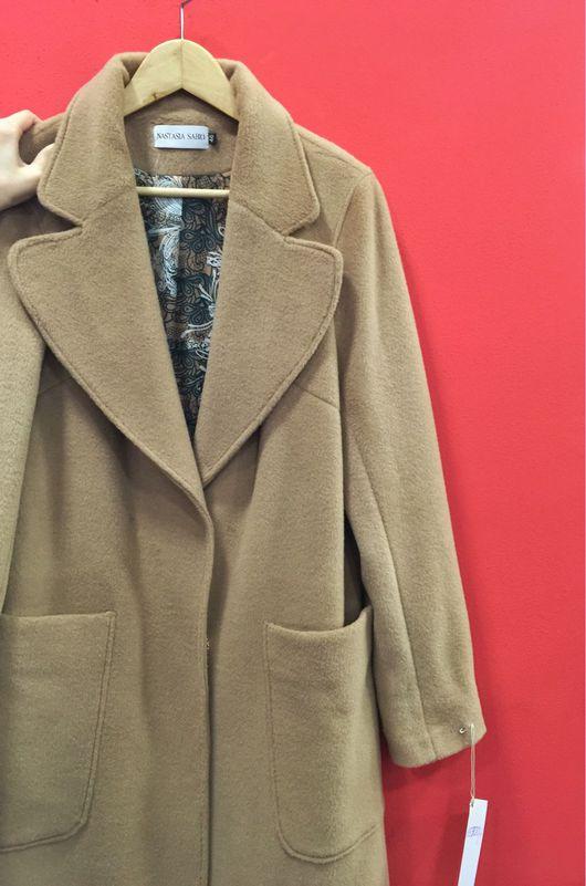 """Верхняя одежда ручной работы. Ярмарка Мастеров - ручная работа. Купить Пальто-халат """"MaxMara Classic"""" camel coat. Handmade."""