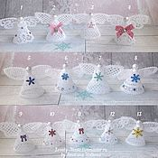 Сувениры и подарки handmade. Livemaster - original item Angels. Souvenir lace. Angel lace. Handmade.