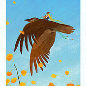 Сувениры ручной работы. Ярмарка Мастеров - ручная работа Авторский календарь 2016 года, продается как набор авторских постеров. Handmade.