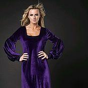 """Одежда ручной работы. Ярмарка Мастеров - ручная работа Платье """"Фиолетовые ночи"""". Handmade."""