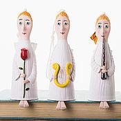"""Куклы и игрушки ручной работы. Ярмарка Мастеров - ручная работа Кукла-колокольчик """"Ангелочек"""". Handmade."""