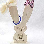 Подставки ручной работы. Ярмарка Мастеров - ручная работа Держатель резинок для волос. Handmade.