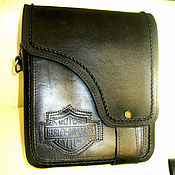 Сумки и аксессуары handmade. Livemaster - original item Bag for biker. Handmade.
