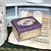 Для дома и интерьера handmade. Livemaster - original item Jewelry box decoupage