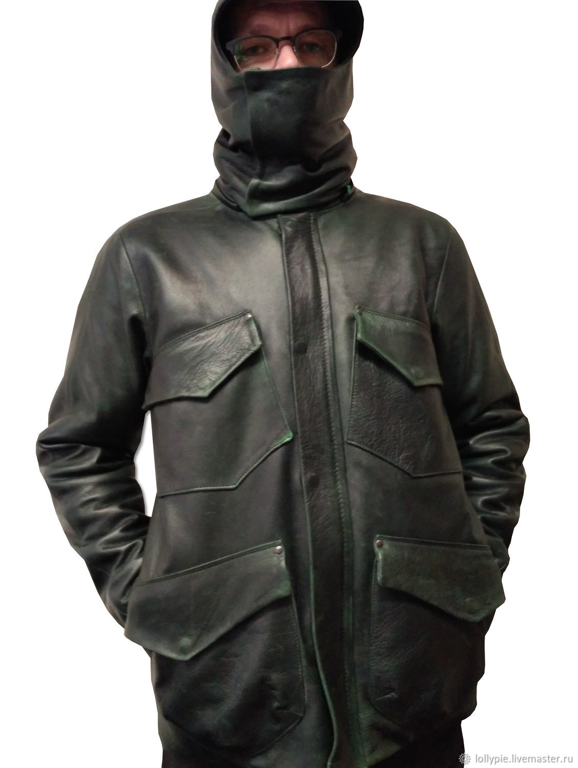 Winter Leather Jacket, Down jackets, Moscow,  Фото №1