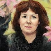 Картины и панно ручной работы. Ярмарка Мастеров - ручная работа Портрет из шерсти на заказ. Handmade.