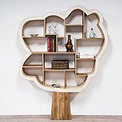 Для дома и интерьера handmade. Livemaster - original item Shelving wood Oak from solid oak. Handmade.