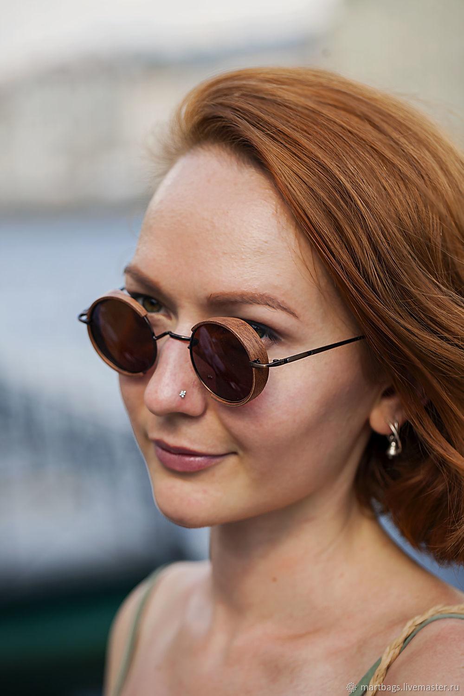 Wooden polarized Milton sunglasses, Glasses, St. Petersburg,  Фото №1