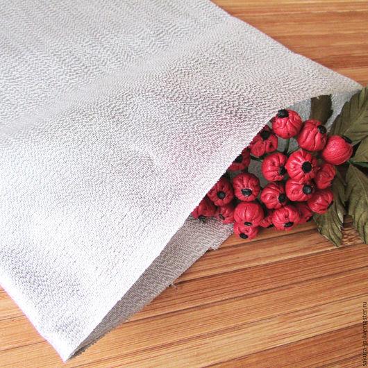 Хагоромо Шах серебро. Японская ткань для цветов. САКУРА - материалы для цветоделия.