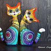 Куклы и пупсы ручной работы. Ярмарка Мастеров - ручная работа Кошки текстильные. Handmade.