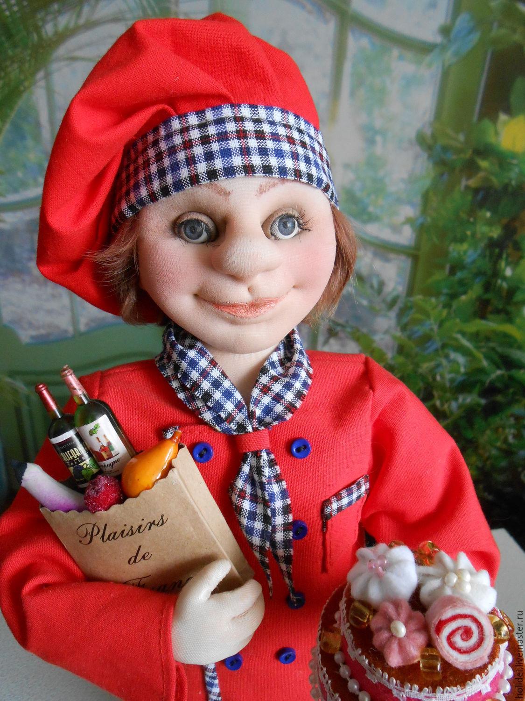 CHEF textile doll, Dolls, Zelenograd, Фото №1
