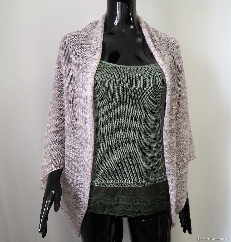 Bolero & Shrug Clothing handmade. Livemaster - handmade. Buy Cape-Bolero jacket from kid-mohair viscose.Gift