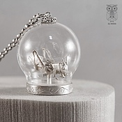 Украшения handmade. Livemaster - original item Silver GRASSHOPPER pendant. Handmade.