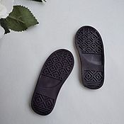 Материалы для творчества handmade. Livemaster - original item Soles for doll shoes. Handmade.