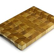 Для дома и интерьера handmade. Livemaster - original item End cutting Board №149. Handmade.