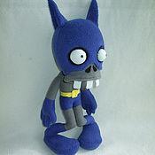 Куклы и игрушки ручной работы. Ярмарка Мастеров - ручная работа Зомби - Бэтмэн мягкая игрушка. Handmade.
