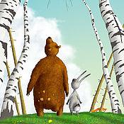 Картины ручной работы. Ярмарка Мастеров - ручная работа Бес перелетных птиц. Авторский принт или Постер. Handmade.