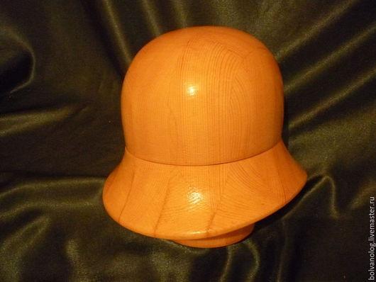 Манекены ручной работы. Ярмарка Мастеров - ручная работа. Купить Болванка- шляпа 17. Handmade. Болванка, сосна