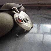 Украшения ручной работы. Ярмарка Мастеров - ручная работа Подвеска из серебра Яблоко для Аллы, минимализм. Handmade.