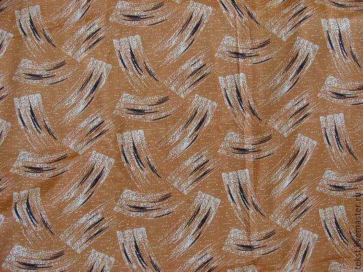 Шитье ручной работы. Ярмарка Мастеров - ручная работа. Купить Ткань натуральный шелк, винтаж, 355 х 90 см.. Handmade.
