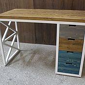Столы ручной работы. Ярмарка Мастеров - ручная работа Рабочий стол в стиле лофт. Handmade.