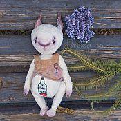 """Куклы и игрушки ручной работы. Ярмарка Мастеров - ручная работа Тедди Заяц """"О ,винцо!"""". Handmade."""