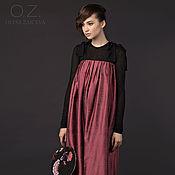 Одежда ручной работы. Ярмарка Мастеров - ручная работа Сарафан из шелка - юбка. Handmade.