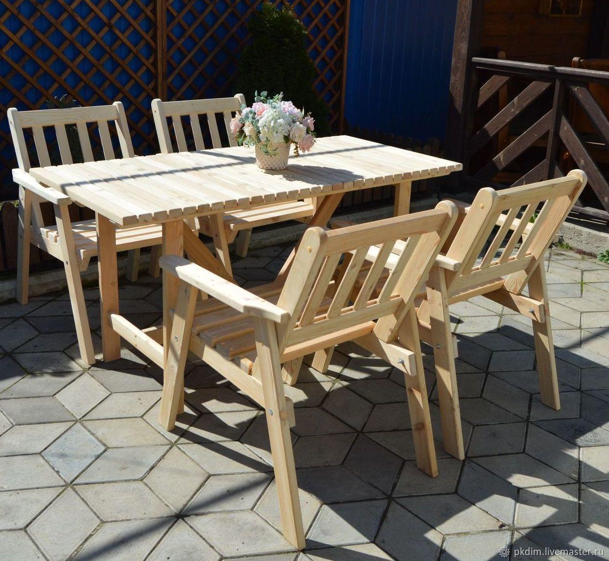 фото стульев для кафе из дерева одним