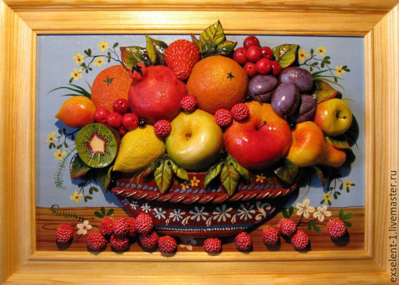 Картина с фруктами своими руками мастер класс