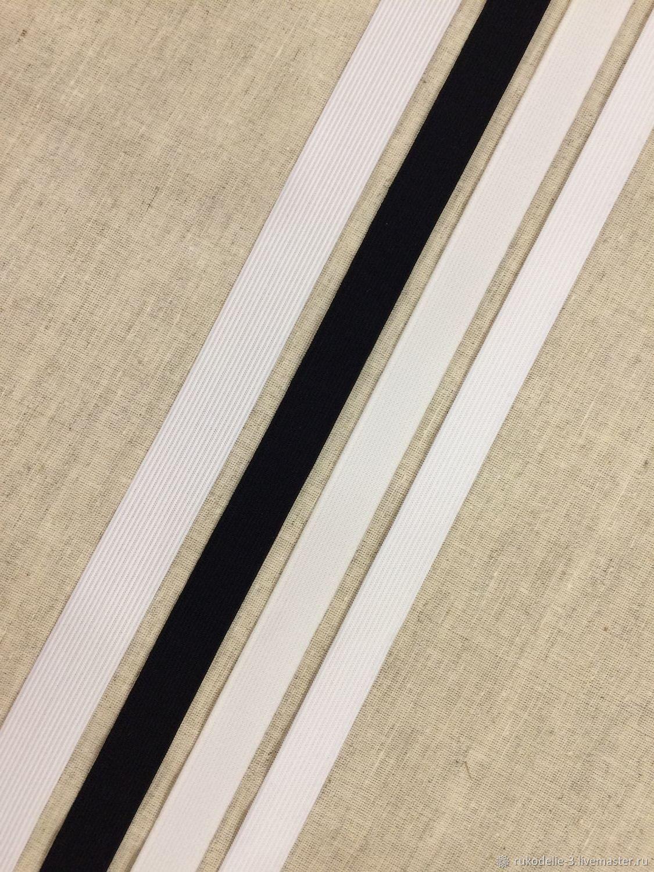 Резинка 18-20-25мм №1 тесьма эластичная плоская, Материалы, Балашиха, Фото №1