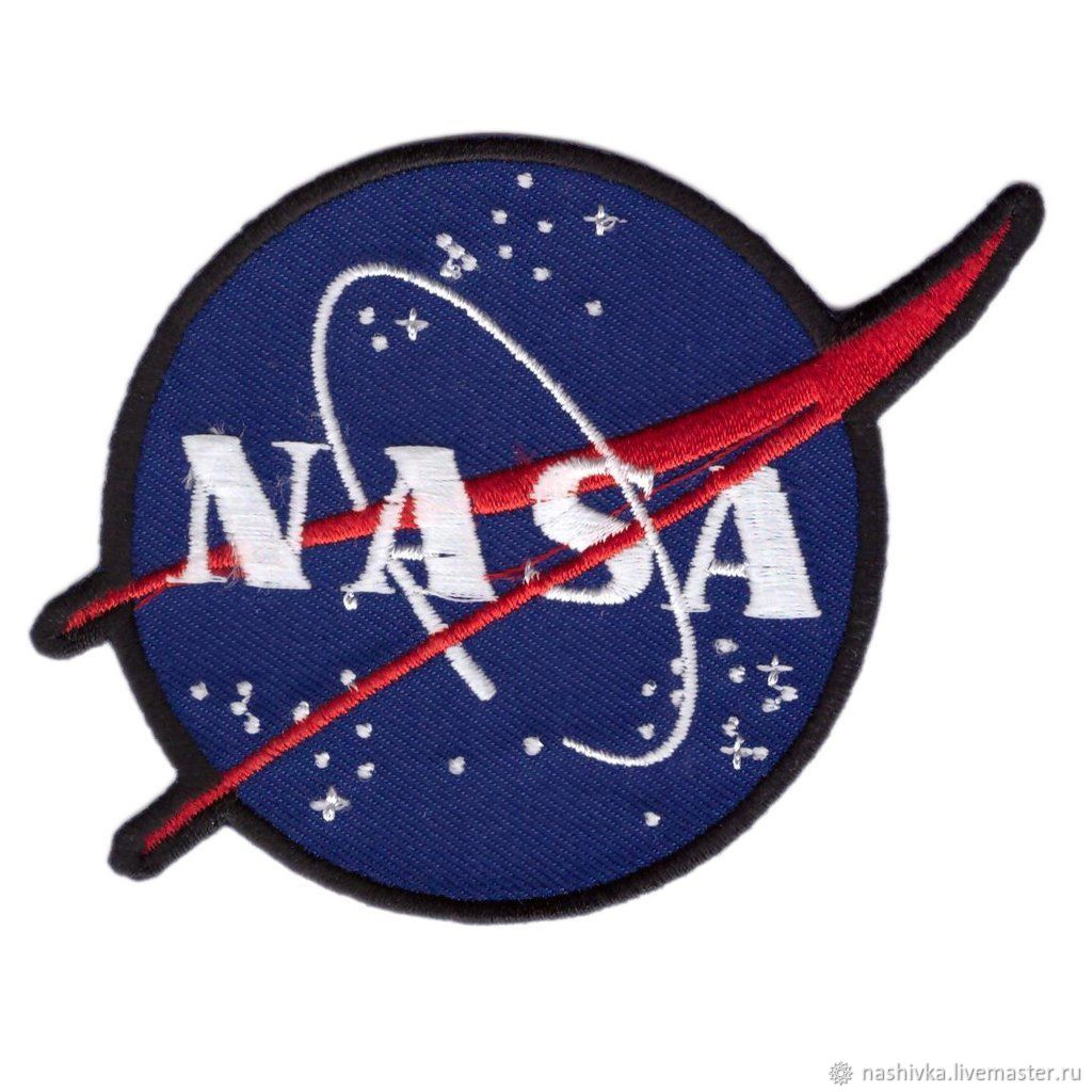 NASA Vector Logo Crew Uniform Space Shuttle Costume Jumpsuit Patch, Аппликации, Москва,  Фото №1