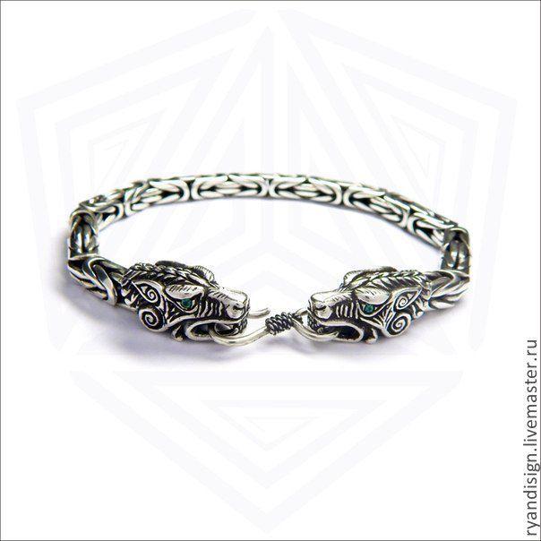 Купить серебрянный браслет в спб