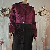 Одежда handmade. Livemaster - original item Knitted coat, ,50-52r.. Handmade.