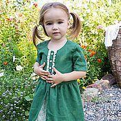 Работы для детей, handmade. Livemaster - original item Dress for girl Salzburg. Handmade.