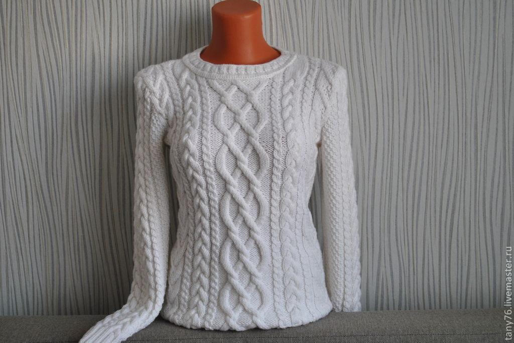 Узоры вязания свитера женского 942