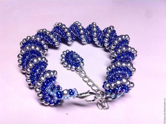 Спиральный браслет на заказ  Spirally bracelet by Olga Malyarchuk