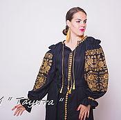 Одежда ручной работы. Ярмарка Мастеров - ручная работа Вышитое платье  бохо вышиванка лен, этно, стиль бохо шик,этностиль. Handmade.